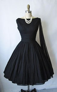 Little Black Evening Dress from the boutique
