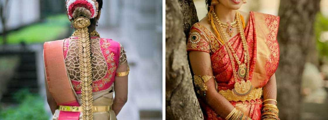 Bridal Saree Blouses with heavy handwork embroidery