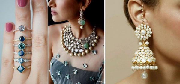 statement jewellery is the trend now for brides