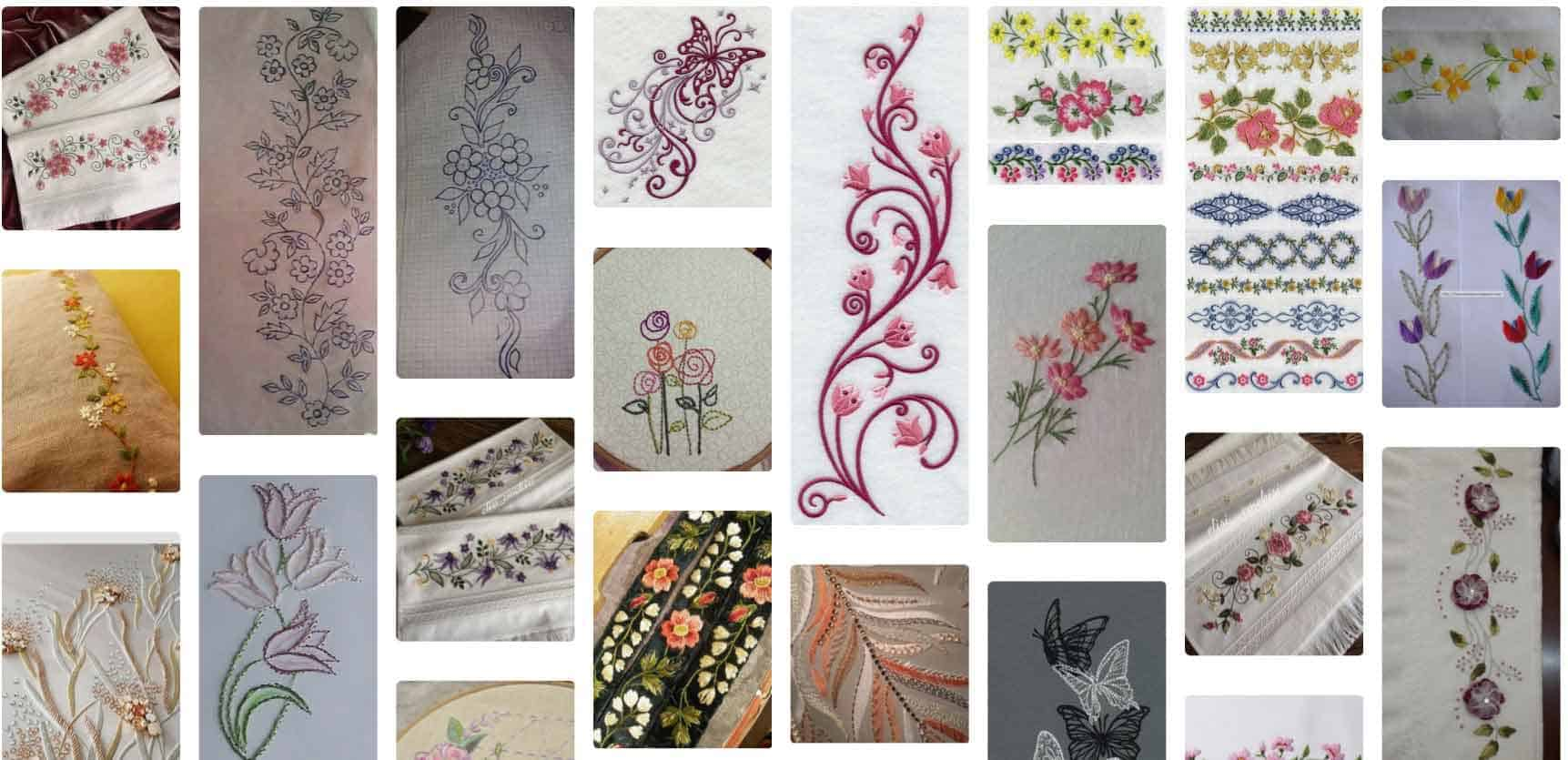 Latest embroidery patterns curated from across the world
