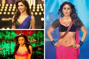 Padded Saree Blouses worn by Bollywood actresses