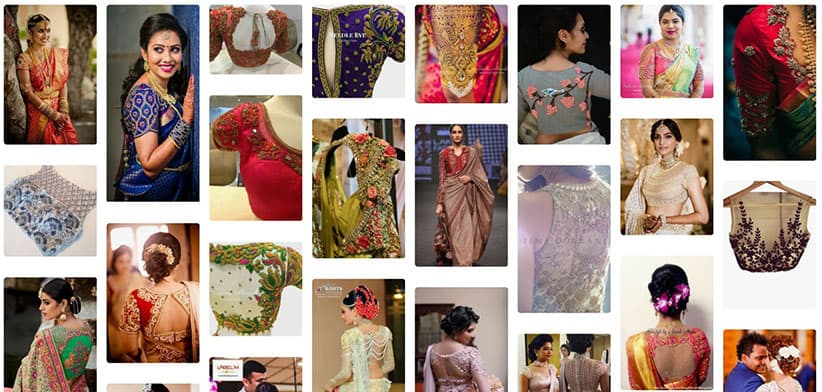 Saree Blouses Latest Designs curated from across the world