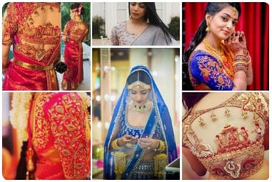 Large Collection of Lehenga Blouse designs curated from across the world