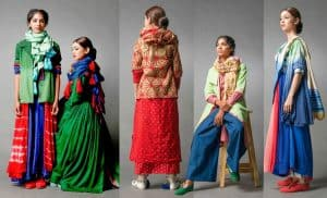 Old clothes re-designed and upcycled to Modern Designer Clothing