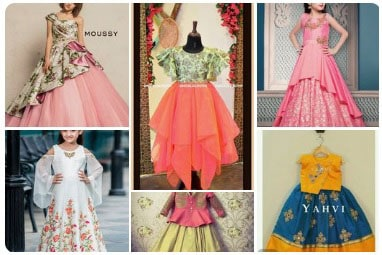 girls dresses collection at the boutique