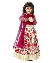 kids lehenga choli dress designed and stitched at the boutique
