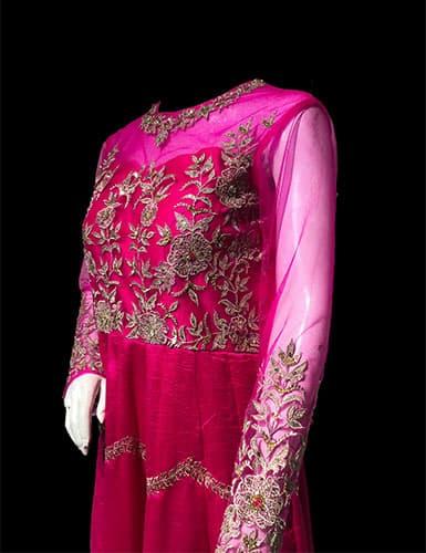 Anarkali Kurti style Indo Western Gown dress