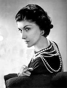 File image of french fashion designer Coco Chanel
