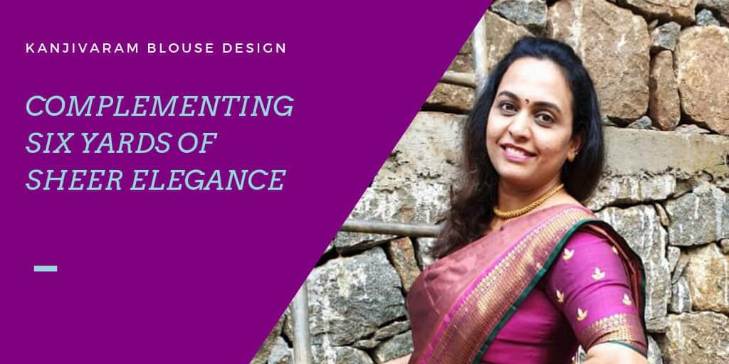 creative for kanjeevaram silk blouse design