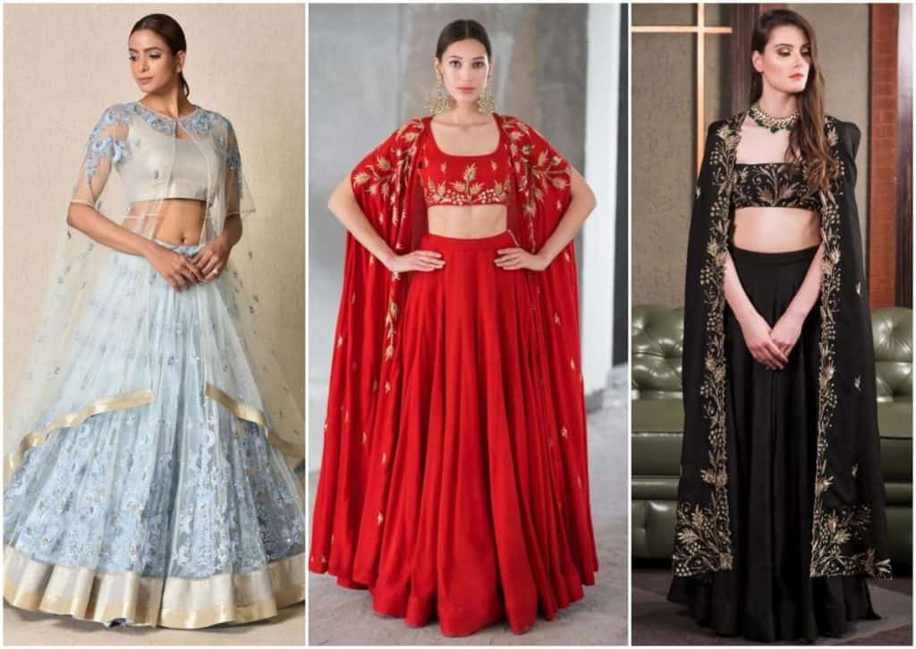 style your lehenga dress with different kinds of separates